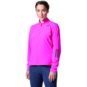 adidas Response Naiset juoksutakki , vaaleanpunainen
